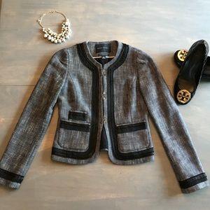 Banana Republic tweed blazer